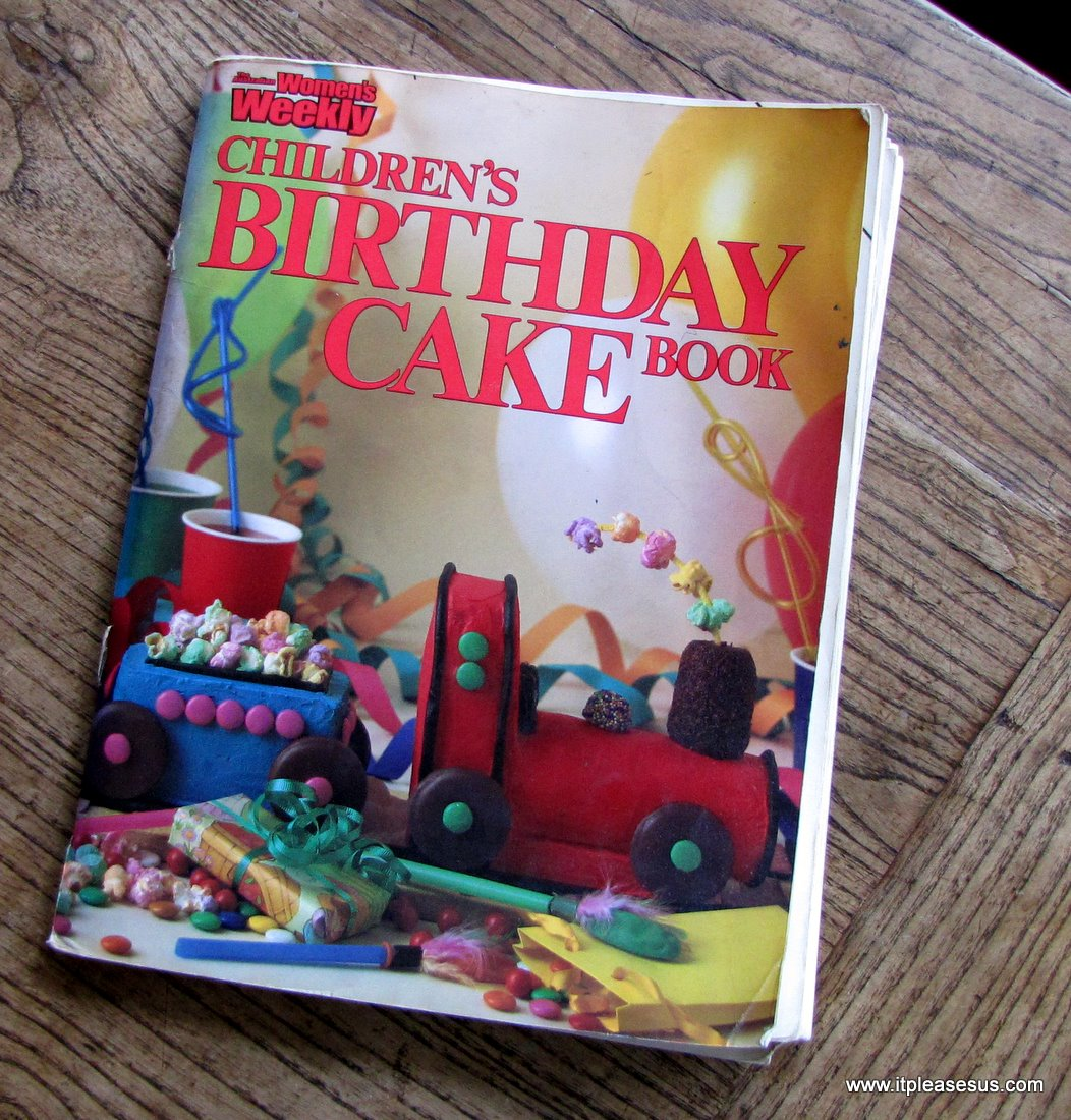 It Pleases Us Blog Archive Kid Friendly Cooking Butterfly - Womens weekly childrens birthday cake cookbook